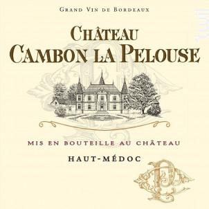 Château Cambon La Pelouse - Château Cambon la Pelouse - 2017 - Rouge