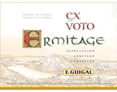 Ex-Voto - Maison Guigal - 2005 - Rouge