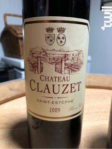Château Clauzet - Château Clauzet - 2009 - Rouge