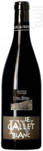 Le Gallet Blanc - Domaine François Villard - 2018 - Rouge