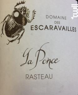 Cuvée La Ponce - Domaine des Escaravailles - 2016 - Rouge