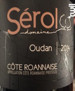 Oudan - Domaine Sérol - 2018 - Rouge
