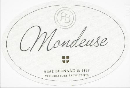 Mondeuse - Aimé Bernard & Fils - 2017 - Rouge