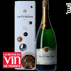 Champagne Taittinger Cuvée Prestige + Etui - Champagne Taittinger - Non millésimé - Effervescent