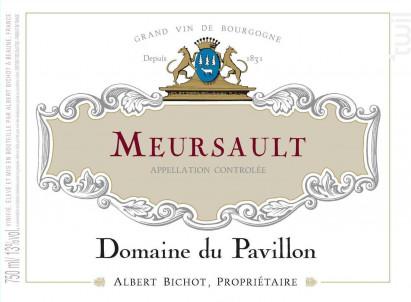 Meursault - Domaine du Pavillon - Domaines Albert Bichot - 2019 - Rouge