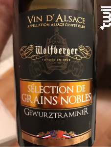 Gewurztraminer Sélection de Grains Nobles - Wolfberger - 2004 - Blanc