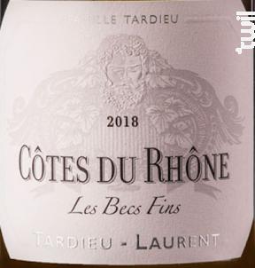 Les Becs Fins - Maison Tardieu Laurent - 2018 - Blanc