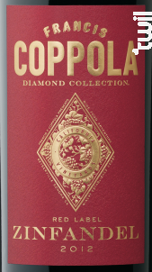 Diamond collection - zinfandel - FRANCIS FORD COPPOLA WINERY - 2016 - Rouge