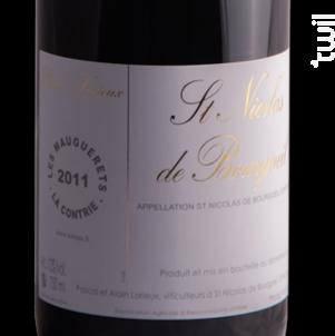 Les Mauguerets - La Contrie - Alain et Pascal Lorieux - 2015 - Rouge