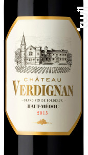 Château VERDIGNAN - Château Coufran-Verdignan - 2015 - Rouge