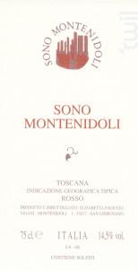 Sono Montenidoli - Montenidoli - 2017 - Rouge