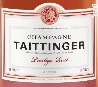 Brut Prestige Rosé MAGNUM - Champagne Taittinger - Non millésimé - Effervescent