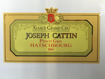 Pinot gris - Maison Joseph Cattin - 2016 - Blanc