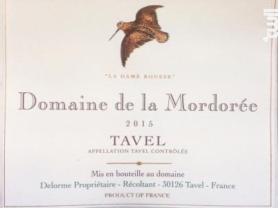 Dame Rousse - Domaine de la Mordorée - 2019 - Rosé