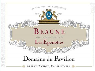 Beaune Les Epenottes - Domaine du Pavillon - Domaines Albert Bichot - 2017 - Rouge