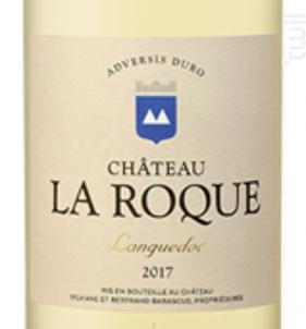 Château La Roque - Château La Roque - 2017 - Blanc