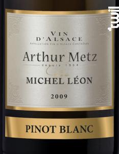 Cuvée Michel Léon Pinot Blanc - Arthur METZ - 2017 - Blanc
