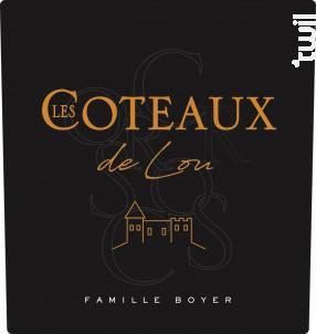 LES COTEAUX DE L. - Château Du Cros • Famille Boyer - 2016 - Blanc