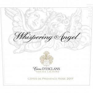 Cave D'esclans - Whispering Angel - Château d'Esclans - Sacha Lichine - 2020 - Rosé