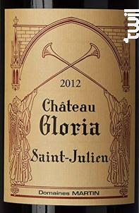 Château Gloria - Domaines Henri Martin - Château Gloria - 2011 - Rouge