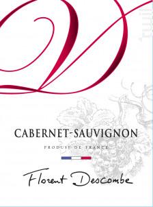 CABERNET SAUVIGNON - Vins Descombe - Non millésimé - Rouge