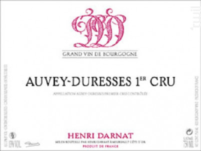 Auxey-Duresses Premier Cru - Domaine Henri Darnat - 2016 - Rouge
