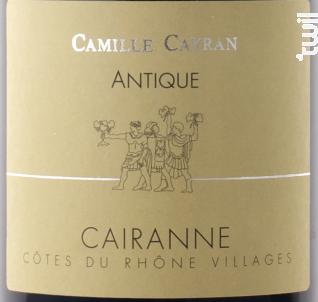 Antique - Cave de Cairanne - 2018 - Rouge