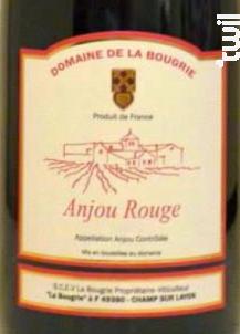 Anjou Rouge - Domaine de la Bougrie - 2015 - Rouge