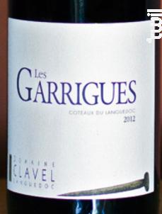 Les Garrigues - Domaine Clavel Languedoc - 2015 - Rouge