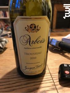 Arbois Trousseau - Domaine Jacques Tissot - 2011 - Rouge