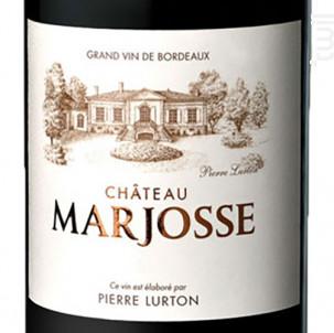 Château Marjosse - Château Marjosse - 2015 - Rouge