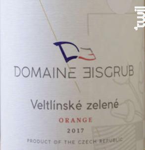 Veltlinské Zelené - Domaine Eisgrub - 2017 - Blanc