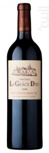 Château la Grâce Dieu - Château La Grâce de Dieu - les Menuts - 2014 - Rouge