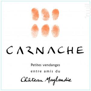 CARNACHE - CHÂTEAU MAYLANDIE - 2017 - Rouge