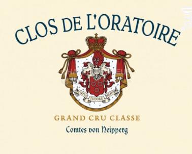 Clos de l'Oratoire - Vignobles Comtes Von Neipperg - 2013 - Rouge