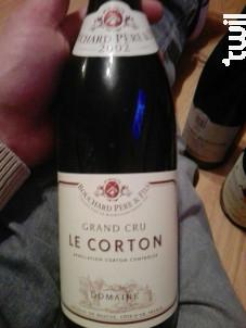 Corton Grand Cru Le Corton - Bouchard Père & Fils - 2003 - Rouge