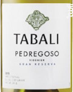 PEDREGOSO GRAN RESERVA - VIOGNIER - TABALI - 2018 - Blanc