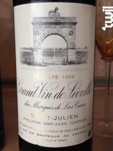Grand Vin de Léoville du Marquis de Las Cases - Château Léoville Las Cases - 1996 - Rouge