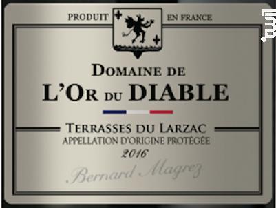 Domaine de L'Or du Diable - Domaine de L'Or du Diable - 2017 - Rouge