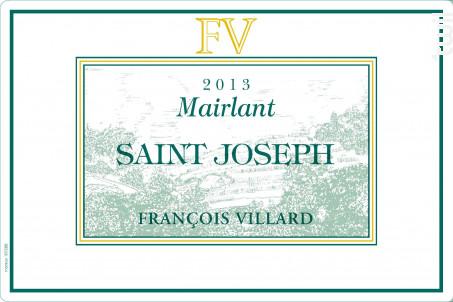 Mairlant - Domaine François Villard - 2019 - Blanc