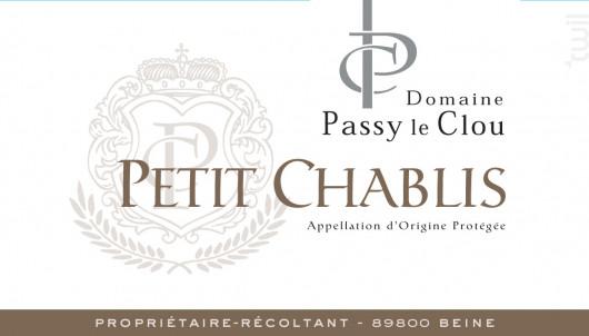Petit-Chablis - Vins Descombe - 2019 - Blanc