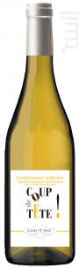 Chardonnay  Coup de Tête - Louis Tête - 2018 - Blanc