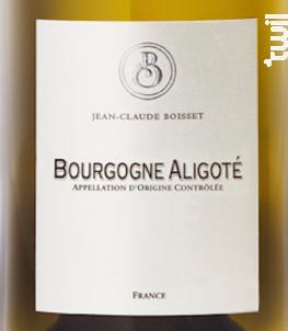 Bourgogne Aligoté Bio - Jean-Claude Boisset - 2014 - Blanc