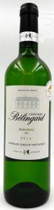 Château Bélingard - Château Belingard - 2016 - Blanc