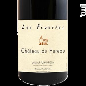 Les Fevettes - CHÂTEAU DU HUREAU - 2018 - Rouge