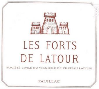Les Forts de Latour - Château Latour - 2008 - Rouge