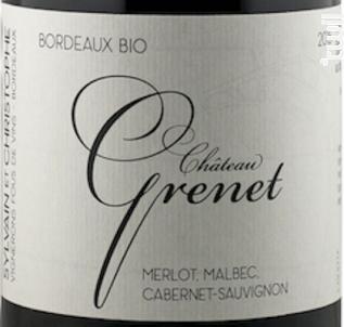 Château Grenet - Sylvain & Christophe, vignerons fous de vins - 2018 - Rouge