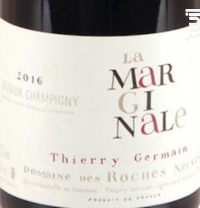 La Marginale - Thierry Germain - Domaine des Roches Neuves - 2018 - Rouge