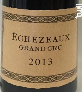 Echézeaux Grand Cru - Domaine Philippe Charlopin - 2014 - Rouge