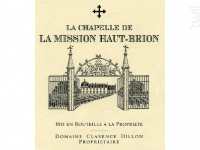 La Chapelle de La Mission Haut Brion - Château La Mission Haut Brion - Domaine Clarence Dillon - 2009 - Rouge